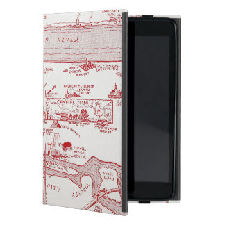 MAP: MANHATTAN, c1935 Case For iPad Mini
