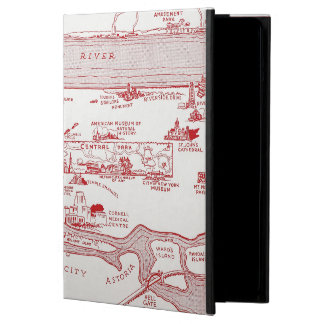 MAP: MANHATTAN, c1935 iPad Air Cover