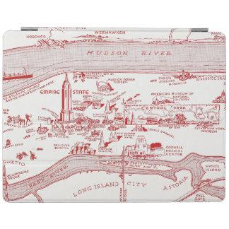 MAP: MANHATTAN, c1935 iPad Cover