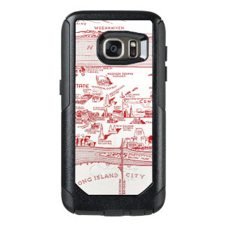 MAP: MANHATTAN, c1935 OtterBox Samsung Galaxy S7 Case