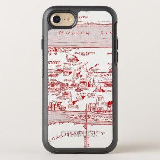 MAP: MANHATTAN, c1935 OtterBox Symmetry iPhone 7 Case