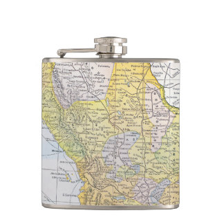 MAP: MEXICO HIP FLASK