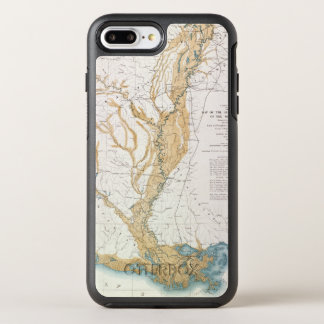 MAP: MISSISSIPPI RIVER, 1861 OtterBox SYMMETRY iPhone 7 PLUS CASE