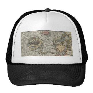 Map Monster/Sea Serpent Cap