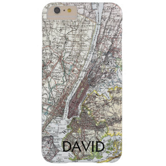 Map: New York Area, 1906 Barely There iPhone 6 Plus Case
