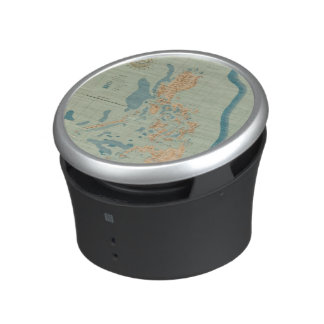 Map No 4 orographic Bluetooth Speaker