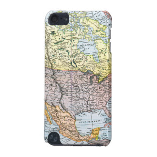 MAP: NORTH AMERICA, 1890 iPod TOUCH 5G COVERS