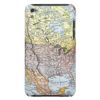MAP: NORTH AMERICA, 1890 iPod TOUCH Case-Mate CASE