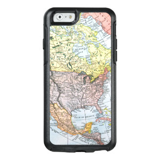 MAP: NORTH AMERICA, 1890 OtterBox iPhone 6/6S CASE