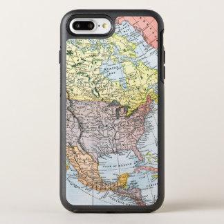 MAP: NORTH AMERICA, 1890 OtterBox SYMMETRY iPhone 7 PLUS CASE