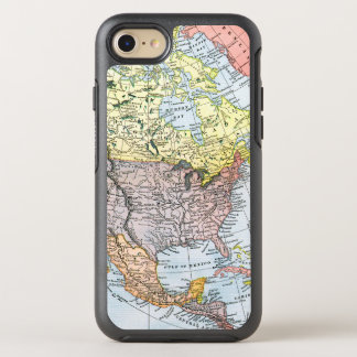 MAP: NORTH AMERICA, 1890 OtterBox SYMMETRY iPhone 8/7 CASE