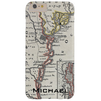 Map: North America, C1700 Barely There iPhone 6 Plus Case