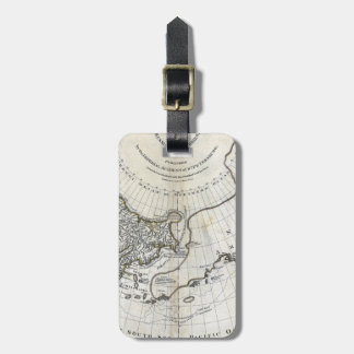 MAP: NORTH PACIFIC LUGGAGE TAG