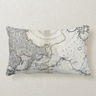 MAP: NORTH PACIFIC LUMBAR PILLOW