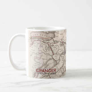 Map: Northeast USA Coffee Mug