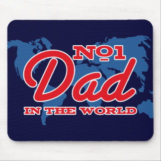 Map Number 1 Dad Mouse Pad