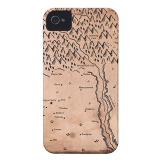Map of Acktar Phone Case