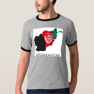 Map Of Afghanistan T-Shirt
