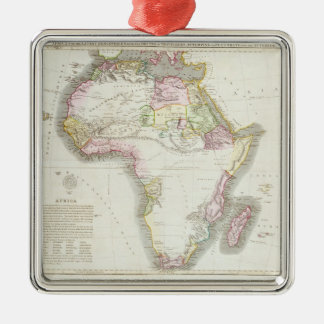 Map of Africa, 1821 Christmas Ornament