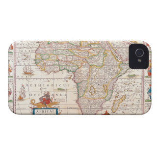 Map of Africa 2 Case-Mate iPhone 4 Cases
