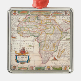 Map of Africa 2 Christmas Ornament