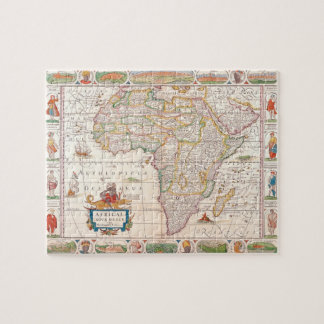 Map of Africa 2 Jigsaw Puzzle