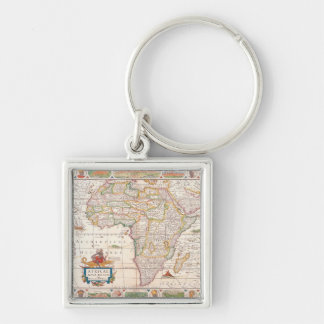 Map of Africa 2 Key Ring