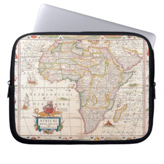 Map of Africa 2 Laptop Sleeve