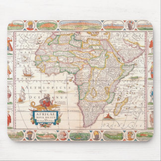Map of Africa 2 Mousepads