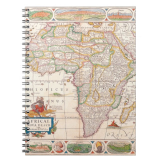 Map of Africa 2 Notebook