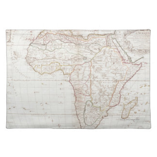 Map of Africa 2 Placemat