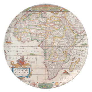 Map of Africa 2 Plate