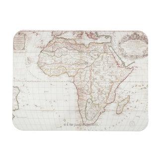 Map of Africa 2 Rectangular Photo Magnet