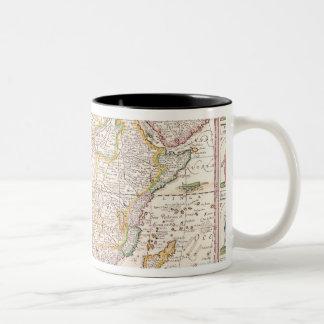 Map of Africa 2 Two-Tone Coffee Mug