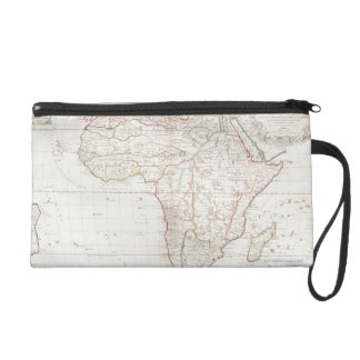 Map of Africa 2 Wristlet