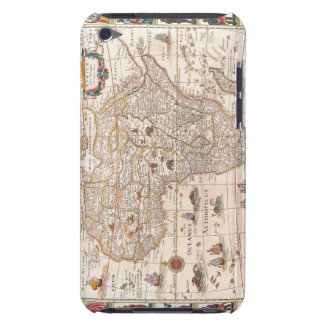 Map of Africa 3 Barely There iPod Cover
