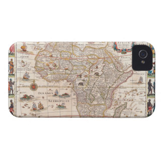 Map of Africa 3 iPhone 4 Case