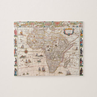 Map of Africa 3 Jigsaw Puzzle