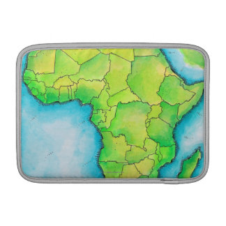 Map of Africa 3 MacBook Sleeve