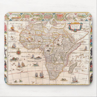 Map of Africa 3 Mouse Pad