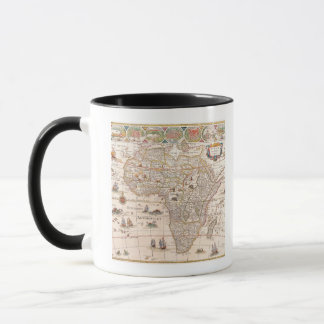 Map of Africa 3 Mug