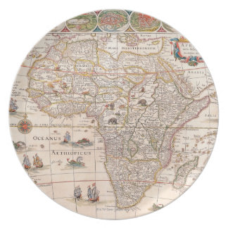 Map of Africa 3 Plate