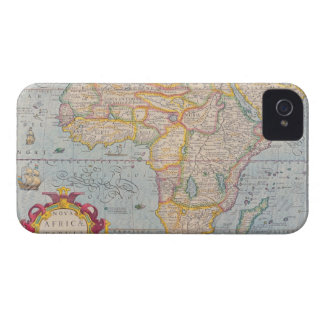 Map of Africa 4 Case-Mate iPhone 4 Cases