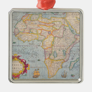 Map of Africa 4 Christmas Ornament