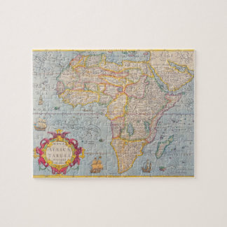 Map of Africa 4 Jigsaw Puzzle