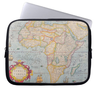 Map of Africa 4 Laptop Computer Sleeve