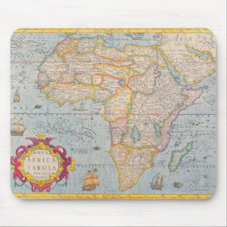 Map of Africa 4 Mouse Pad