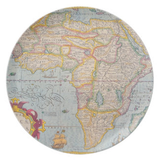 Map of Africa 4 Plate