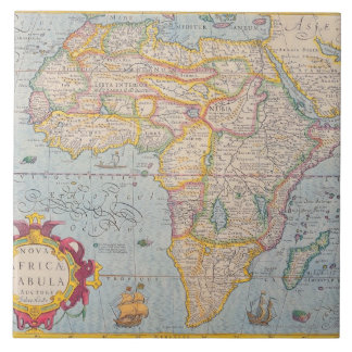 Map of Africa 4 Tile