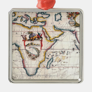 Map of Africa 5 Christmas Ornament